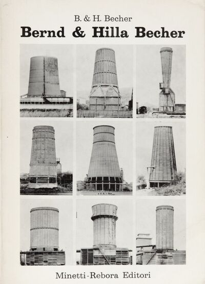 Bernd and Hilla Becher, 'Volume published for the exhibition of Bernd & Hilla Becher in Genoa in collaboration with the Sonnabend Gallery in Paris curated by Germano Celant'