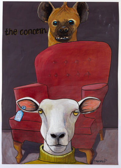 Colbert Mashile, 'The Concern', 2020
