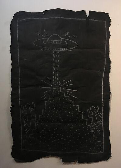 Keith Haring, 'Subway Drawing', 1985