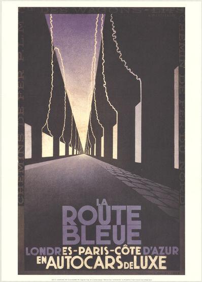 A.M. Cassandre, 'La Route Bleue', 1998