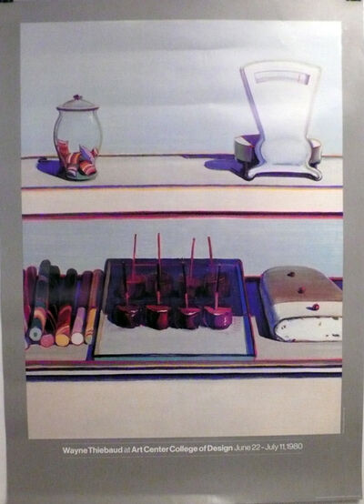 Wayne Thiebaud, 'Art Center College of Design, 1980', 1980