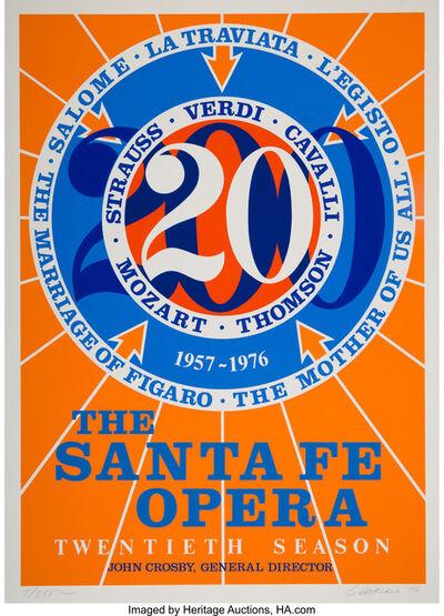 Robert Indiana, 'The Sante Fe Opera', 1976
