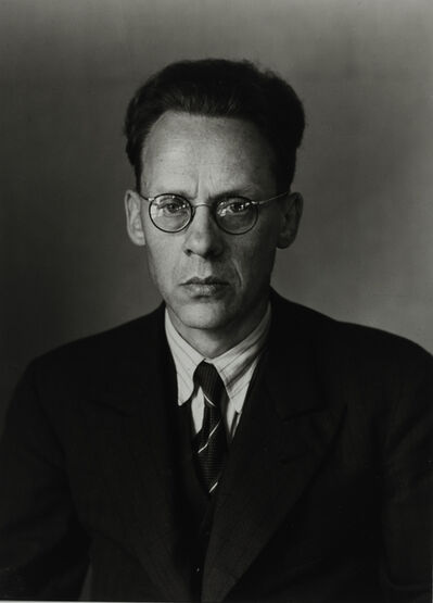 August Sander, 'Politician and Publisher [Otto Schmidt], 1930'