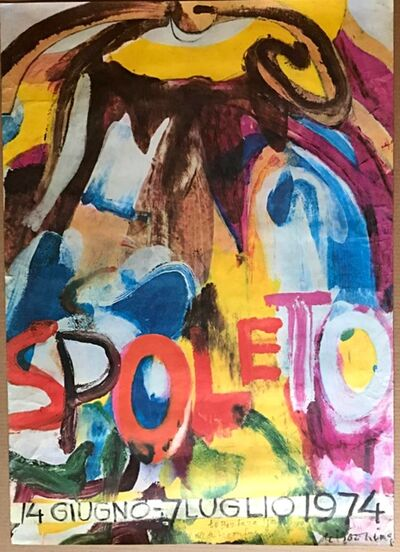 Willem de Kooning, 'Spoleto, from the collection of Alan York, de Kooning's eye doctor, neighbor, collector and friend', 1974