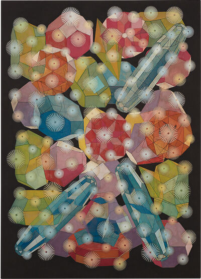 Philip Taaffe, 'Composition with Gemstones', 2001
