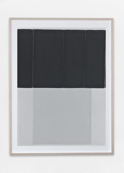 Joachim Bandau, 'Black watercolor', ca. 1997