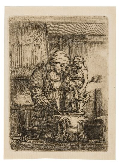 Rembrandt van Rijn, 'The Goldsmith', 1655