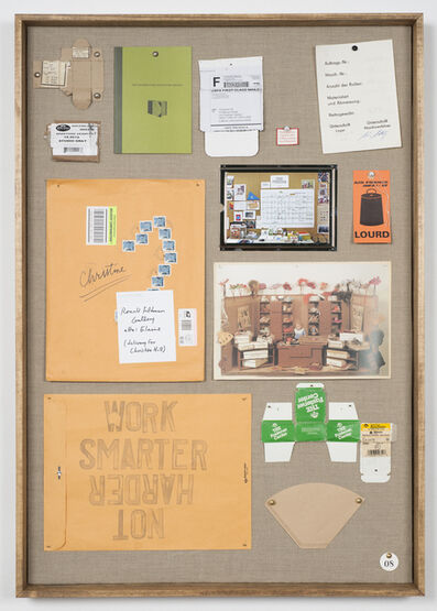 Christine Hill, 'Musterbrett (Sample Board) No. 8', 2012