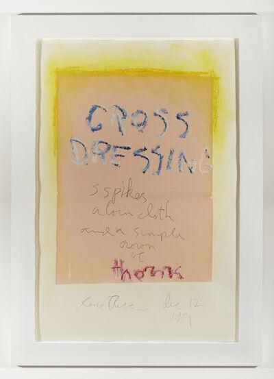 Rene Ricard, 'Cross Dressing (pink)', 1989