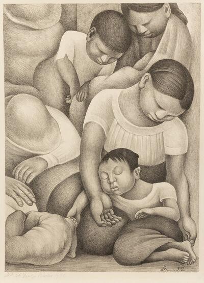 Diego Rivera, 'El Sueño (La Noche de los Pobres)', 1932