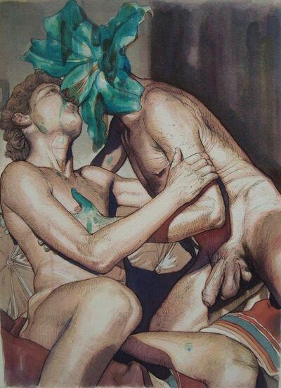 José Gonzalo García Muñoz, 'Devouring love (from The unexpected visit of the unfortunate love)', 2017
