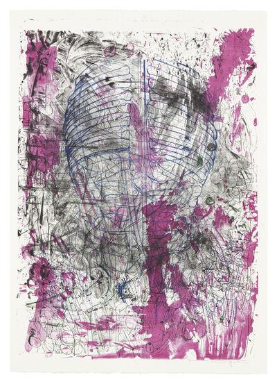 """Hermann Nitsch, 'Aus der Serie """"Die Architektur des Orgien Mysterien Theaters"""" Mappe III', 1984/92"""