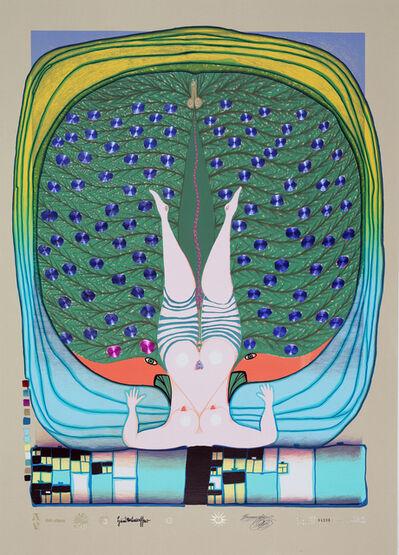 Friedensreich Hundertwasser, 'Hommage à Schröder-Sonnenstern', 1972