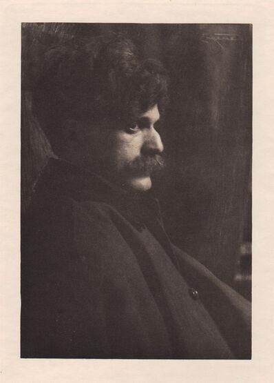 "Frank Eugene, '""Portrait of Alfred Steiglitz""', Neg. date: 1909 c. / Print date: 1909 c."