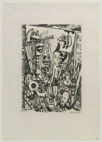 Max Beckmann, 'Der große Mann', 1918