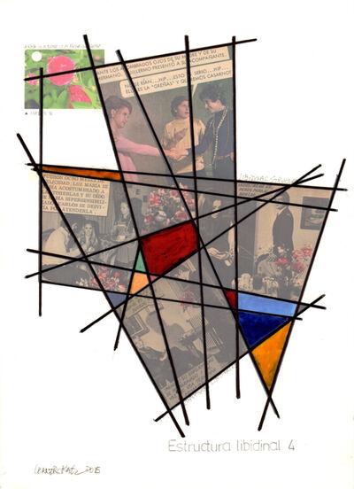 Leandro Katz, 'Estructura Libidinal 4', 2015