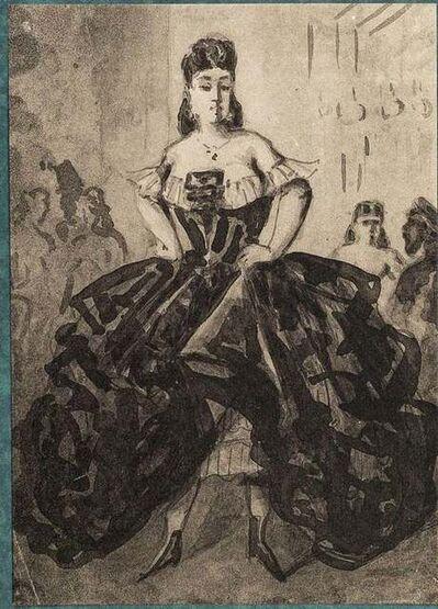 Constantin Guys, 'La Danseuse', Early 20th Century.