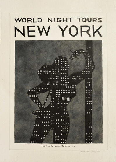 Hideo Takeda, 'NEW YORK', 2014