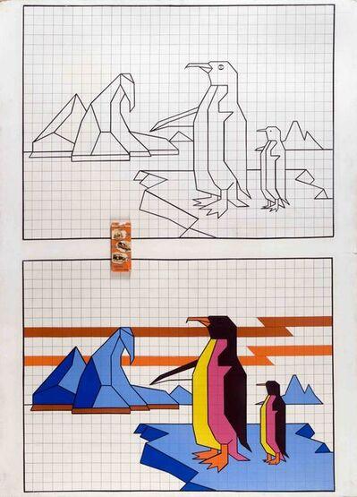 Aldo Mondino, 'Pinguini', 1963