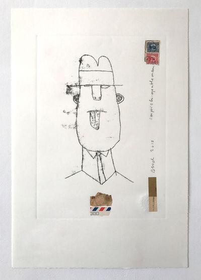 Serge Bloch, 'Impish Gentleman'