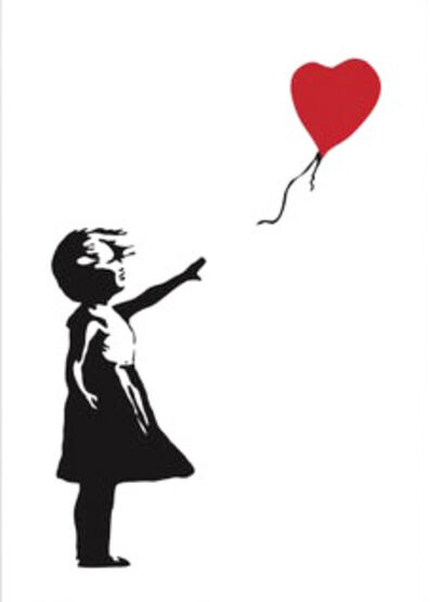 Banksy, 'Girl with Balloon', 2019