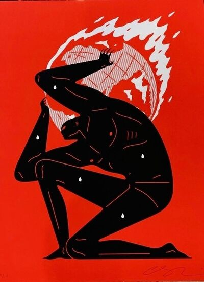 Cleon Peterson, 'World on Fire (Red)', 2020