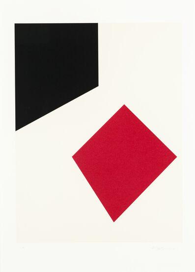 Guido Molinari, 'Untitled (red)', 2001