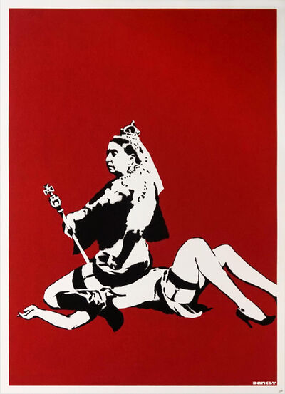 Banksy, 'Queen Victoria - Unsigned', 2003