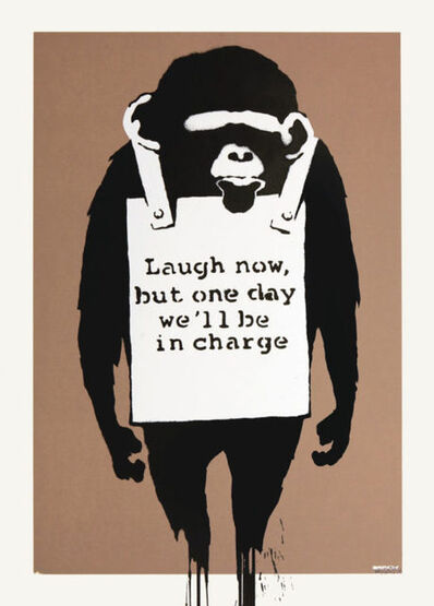 Banksy, 'Laugh Now (unsigned)', 2003