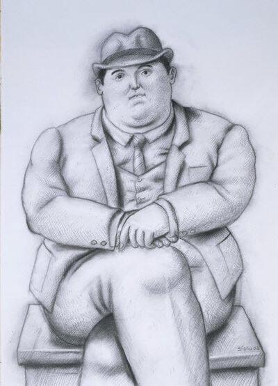 Fernando Botero, 'Seated Man', 2003