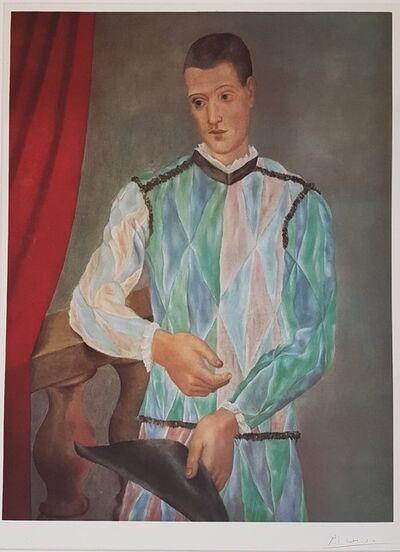 Pablo Picasso, 'Harlequin', 1966