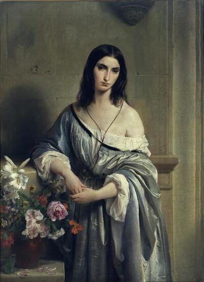 Francesco Hayez, 'Melancholy', 1840-1842