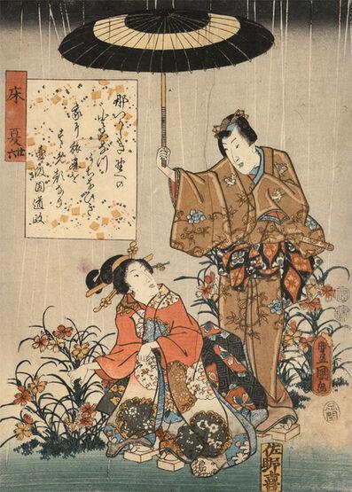 Utagawa Toyokuni III (Utagawa Kunisada), 'Tokonatsu', 1852