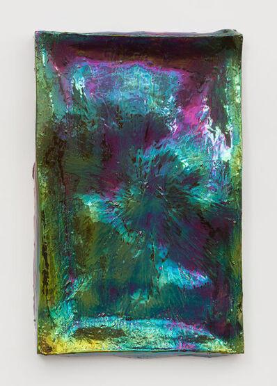 Julia Kunin, 'Mirror I (green purple)', 2015