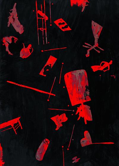 Wang Huaiqing, 'Night Revel (Han Xizai's Night Revel-4)', 2006