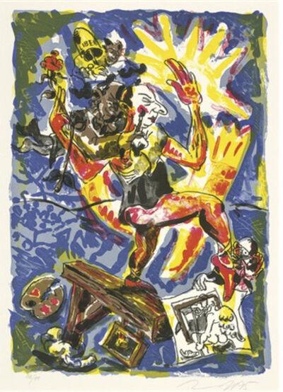Jörg Immendorff, 'The Rake, plate 2 (From the Rake)', 1995