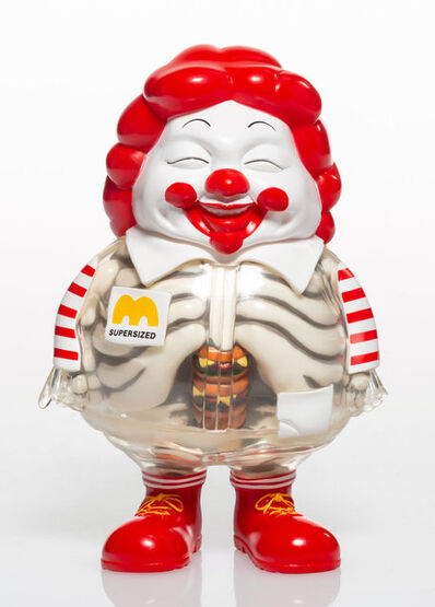 Ron English X Secret Base, 'X-Ray Mc Supersized', 2011