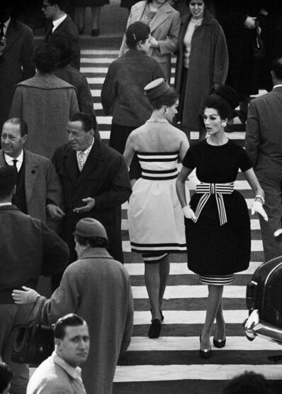 William Klein, 'Simone + Nina, Piazza di Spagna Nr. 2, Rome (Vogue)', 1960