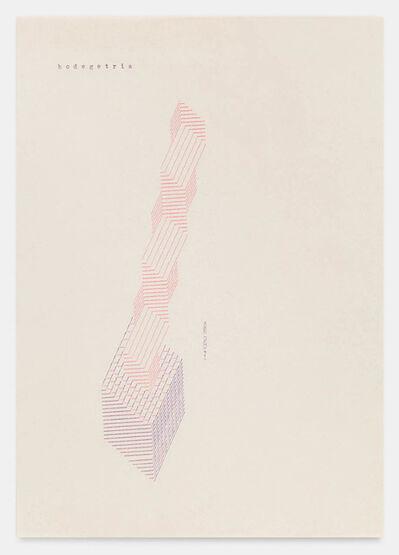 Dom Sylvester Houédard, 'hodegetria 260171', 1971