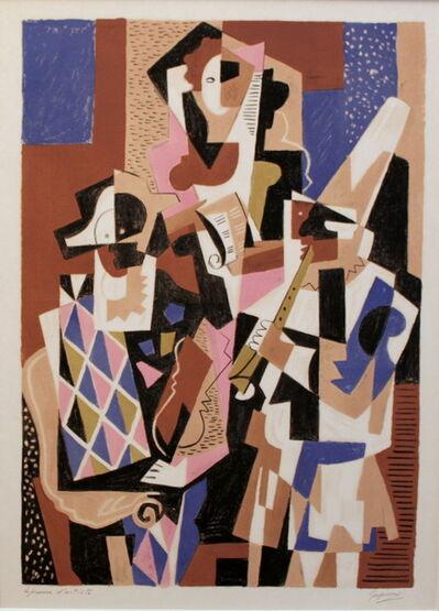 Gino Severini, 'Musiciens', 1958