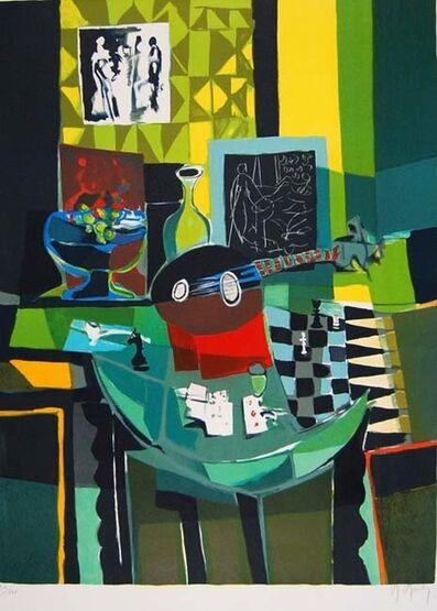 Marcel Mouly, 'Mandole sur Table a Jeux  ', 1988