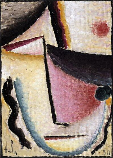 Alexej von Jawlensky, 'Abstrakter Kopf: Schräge Augen (Abstract Head: Slanted Eyes)', 1930