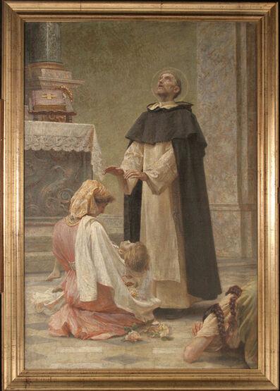 VLAHO BUKOVAC, 'The Altarpiece of Saint Dominic (Study)', 1911