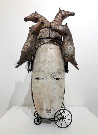 Robin & John Gumaelius, 'Singing Horse Headdress', 2018