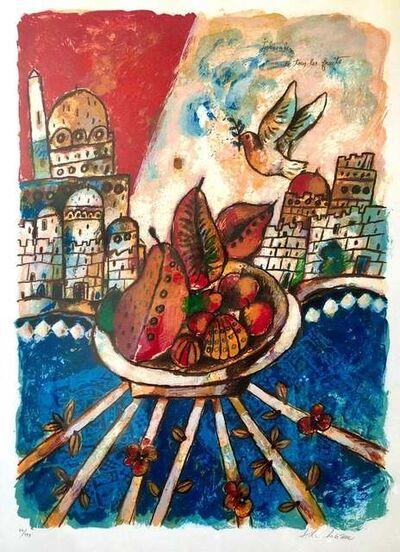 Theo Tobiasse, 'Jerusalem de tous les fruiets', 1975