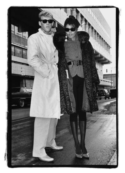 Amy Arbus, 'White and Black Couple', 1980-1990