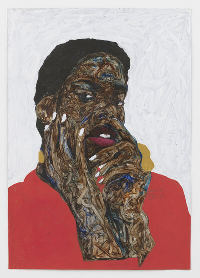 Amoako Boafo, 'Bella Sontez', 2019