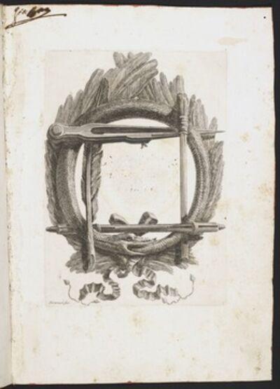 Giovanni Battista Piranesi, 'Blank ex-libris', 1757