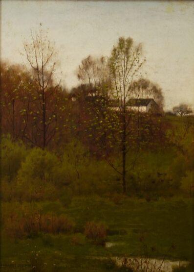 Leonard Ochtman, 'Spring Pasture', 1886