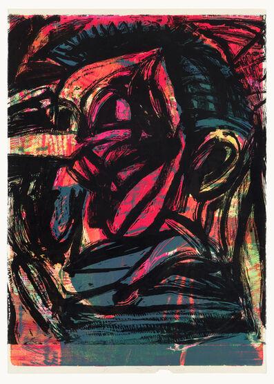Jim Dine, 'Black Brain', 2013